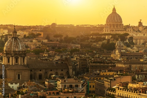 City of Rome and Vatican