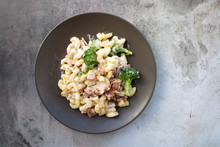 Pasta With Broccoli And Bacon