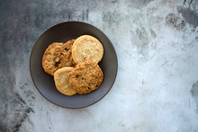 A Variety Plate Of Cookies