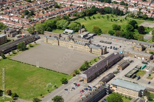 Photo Cavalry Barracks, Hounslow - aerial view
