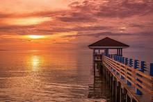 Sunset In Siquijor Island, Phi...