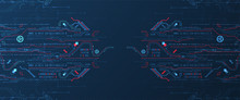 Abstract Technology Concept. C...