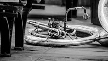 French Horn On The Ground