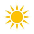 słońce ikona