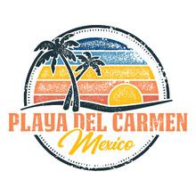 Playa Del Carmen Mexico Vintag...