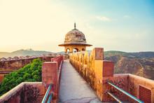 Jaigarh Fort At Sunset. Histor...