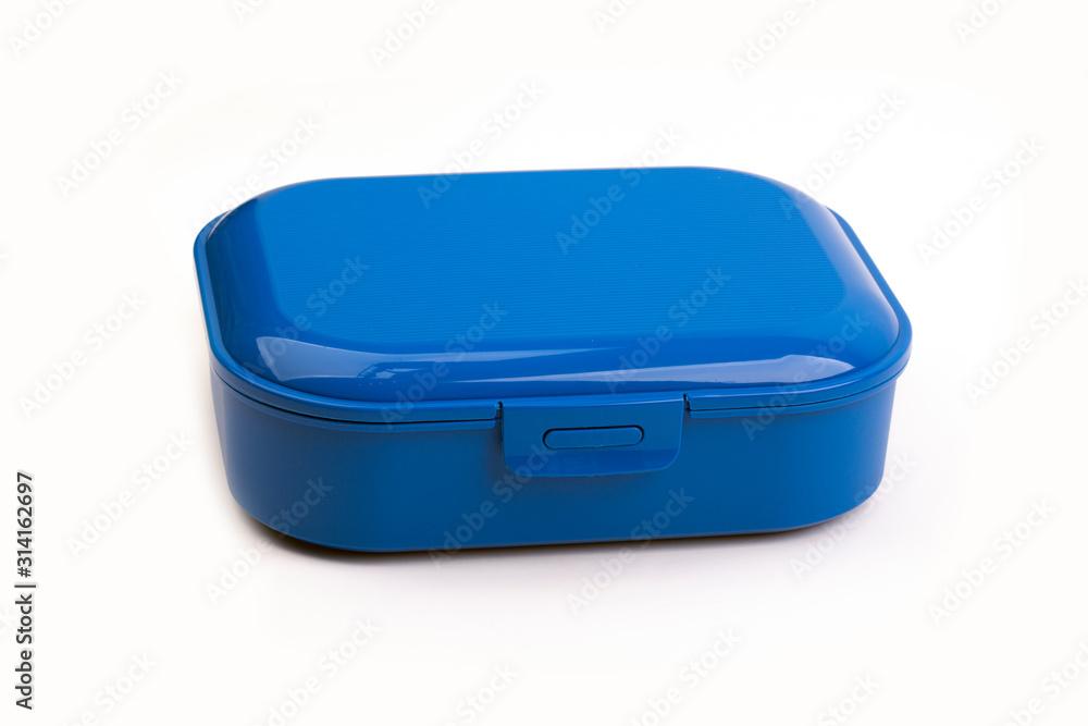 Fototapeta Blue Plastic Box
