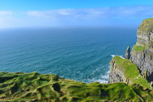 Cliffs Of Moher Are Sea Cliffs...