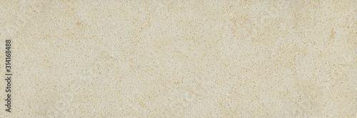 Quartz beige ceramic mosaic tile texture stone background Canvas Print