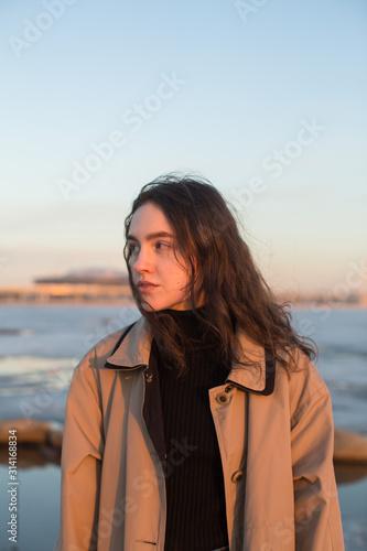 Photo Portrait of beautiful young woman