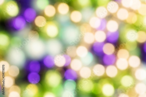 Purple Gold and Green Mardi Gras Background Wallpaper Mural