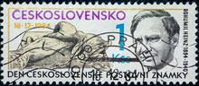 Stamp Printed By Czechoslovaki...