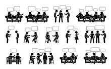 People Conversation And Commun...