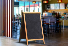 Restaurant Sidewalk Chalkboard Sign Board Stand