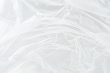 White Plastic Bag Texture, Abstract, Background
