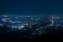 Night View Of City Light
