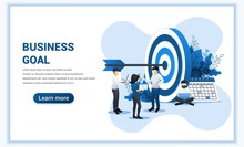 Business Web Banner Concept De...