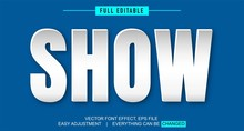 Paper Style Shadow Text Effect Design,editable Text Effect In Adobe Illustrator, Easy To Customize To Your Needs With Just One Click, Fonts Not Included