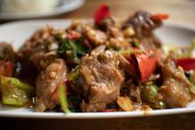 Thai Spicy Stir Fried Beef Wit...