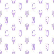Ice Cream Background, Sweet Fo...