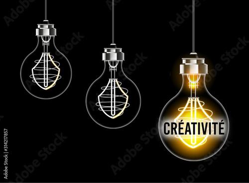 Obraz Illustration du concept de créativité - fototapety do salonu