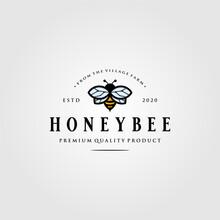 Vintage Bumblebee Logo Village...