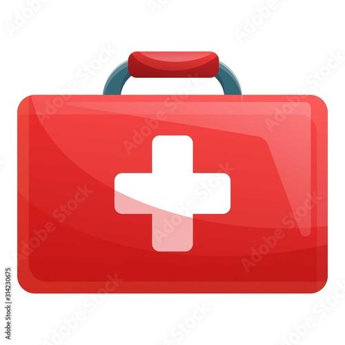Fototapeta First aid kit icon