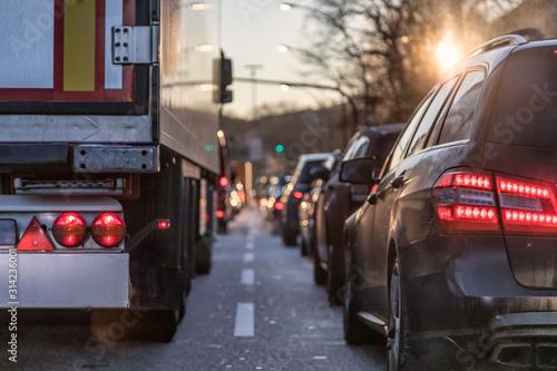 Cuadros en Lienzo morning_congestion