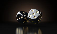 Black Casino Dice