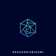 Abstract Hexagon Illustration Vector Template