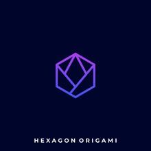 Hexagon Color Illustration Vec...
