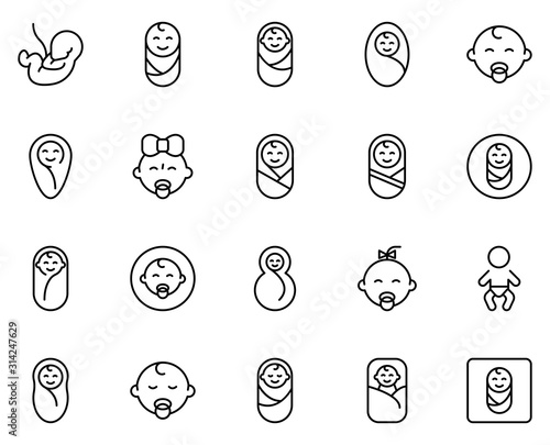 People line icon Fototapeta