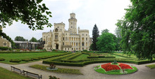 Panoramic View Of The Castle -...