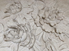 Low Relief Cement Thai Style H...