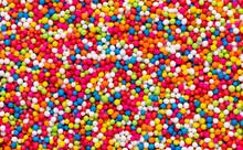 Abstract Sprinkles Food Textur...