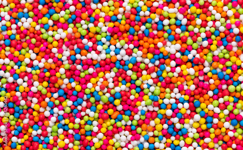 Fotomural abstract sprinkles food texture background
