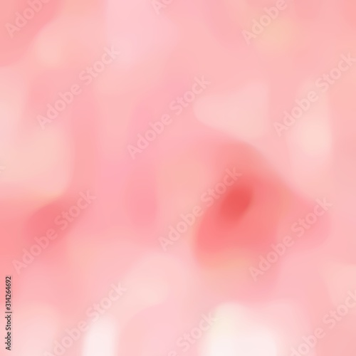 Fototapeta soft blurred square format background texture with light pink, light coral and misty rose colors space for text or image obraz na płótnie