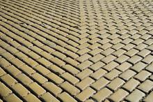 Yellow Stone Pavement Texture
