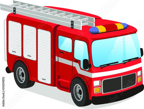 Photo fire truck