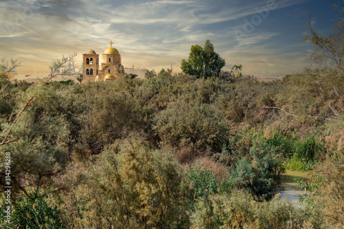 Foto Saint John the Baptist Church and the Jordan River