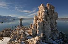 Winter Landscape Of Mono Lake ...