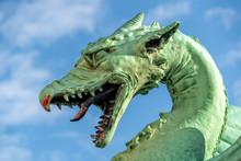 Ljubljana Dragon On The Bridge...