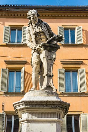 Statue of Luigi Galvani in Bologna, Italy Poster Mural XXL