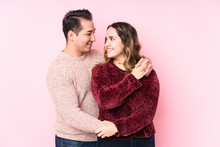 Young Latin In Love Couple