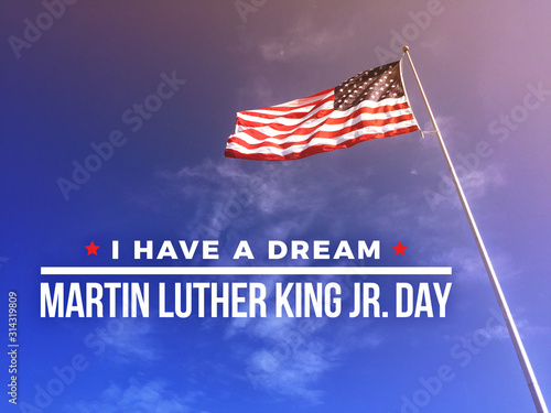 Tablou Canvas I Have A Dream Martin Luther King Jr