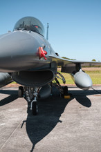 Military Fighter From Front - ...