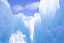 Ice Crystals Forming Decorativ...
