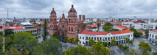 Photo Aerial panorama of the center of the city of Santa Cruz de la Sierra