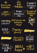 Valentines Day Cards, Vector D...