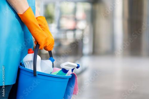 Fotografía Concept cleaning services.